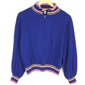 ST John Sportswear Zip Up Cardigan